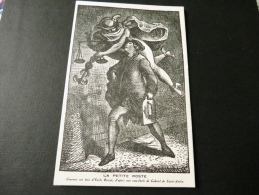 CARTE POSTALE Exposition Philatélique LA POSTE A PARIS Novembre 1942 (petite Poste) - Bourses & Salons De Collections