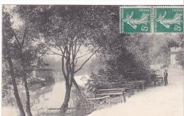 22845 ASNIERES -Ile De La Jatte ( Vue Intérieure )  20 Ed ? - Asnieres Sur Seine