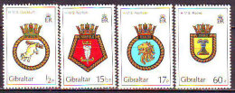 GIBRALTAR  - COAT Of ARMS  SHIPS  - 60p INVERTED  Wmk/Wz - **MNH - 1982 - Barche