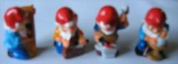 Kinder Série Nain Travailleur 4 Nains N°4 à 7 - Kinder & Diddl