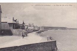 22850 Asnelles Sur Mer - La Digue De Mer Et Les Villas  -51 ND Velo - Non Classés