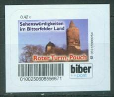 Biber Post Roter Turm Pouch A007 - [7] Repubblica Federale