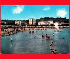 ITALIA - MARCHE - Cartolina Viaggiata Del 1970 - FANO (Pesaro Urbino) - Spiaggia - Fano