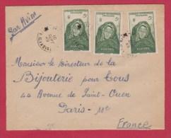 AOF //  Enveloppe Pour Paris //  10 Septembre 1949 - A.O.F. (1934-1959)