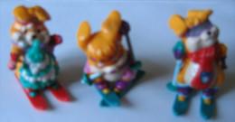 Kinder Série Bunies 3 Lapins N°1 / 5 Et 7 - Kinder & Diddl