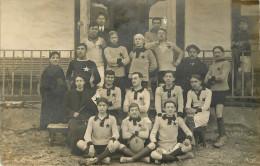 Carte Photo Equipe De Football éditeur Lançon Fréres Chambery Annecy - Altri Comuni