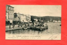 TOULON SAINT MANDRIER SUR MER    1903   LE CREUX SAINT GEORGES   CIRC  OUI - Saint-Mandrier-sur-Mer