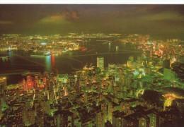 Hong Kong Big Night Glimmers Like Stars - China (Hongkong)