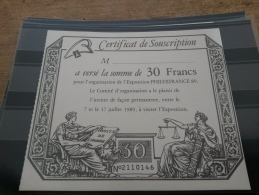 LOT 190136 TIMBRE DE FRANCE DOCUMENT