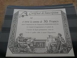 LOT 190137 TIMBRE DE FRANCE DOCUMENT