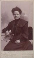 """FOTOGRAFIA PHOTOGRAPHY RITRATTO D´EPOCA ANTE 1900- 6,20 X 10,50-PHOTOGRAPHE """"PAUL VERRON ST ETIENNE MARSEILLE - Antiche (ante 1900)"""