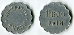N93-0131 - Monnaie De Nécessité - Thaon-les-Vosges - Coopérative - 1kg500 De Pain - Monetary / Of Necessity