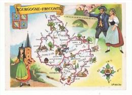 CHROMO: BOURGOGNE-FRANCHE-COMTE - Chromos