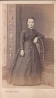 """FOTOGRAFIA PHOTOGRAPHY RITRATTO D´EPOCA ANTE 1900- 6,20 X 10,50-PHOTOGRAPHE """"DELSART"""" VALENCIENNES 1864 - Antiche (ante 1900)"""