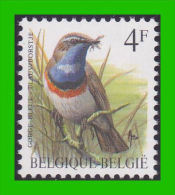 BUZIN - 2321** Gorge Bleue / Blauwborstje - H2 (groene Gom Verte) - 1985-.. Oiseaux (Buzin)
