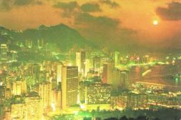 Beautiful Dusk Scene Of Victoria - China (Hongkong)