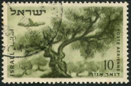 Pays : 244 (Israël)        Yvert Et Tellier N° : Aé    9 (A) (o) - Airmail