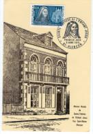 ALENCON Sainte Thérèse De L´Enfant Jésus. 1973. Carte P. Maison Natale. - FDC