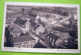 Cpa WINNEZEELE 59 Carrefour Et Route Vers Cassel - Frankrijk