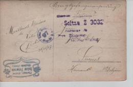 CP D'un PDG/POW écrite Du Camp De Soltau 25/11/17 V. Leernes Censure Du Camp PR571