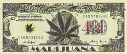 420 $ Cannabis UNC - Specimen