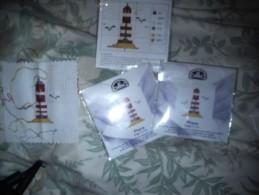 3 Mini Kits Commerciaux Démonstration DMC Phare - Tappeti & Tappezzeria
