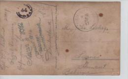 CP D'un PDG/POW écrite Du Camp De Soltau En1917 V. Leernes Censure Du Camp PR575 - WW I