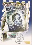 F.P. MICHETTI, STAMP ISSUE, CM, MAXICARD, CARTES MAXIMUM, 1999, ITALY - Maximum Cards