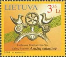 Lietuva Litauen 2009 MNH ** Mi. Nr. 1011 - Lithuania