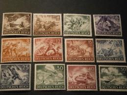 """Deutsches Reich Michel Nr. 831/842 """"Wehrmacht"""" Postfrisch - Allemagne"""