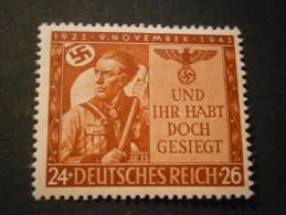"""Deutsches Reich Michel Nr. 863 """"Hitlerputsch"""" Postfrisch - Allemagne"""