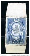 SARRE Journée Du Timbre 1953 NSC Avec Marges Inf. Et Sup. Luxe - Neufs