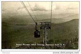 Cannon Mountain Aerial Tramway Franconia Notch  1941 Mint  Genuine Photo - White Mountains