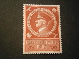 """Deutsches Reich Michel Nr. 887 """"Hitler"""" Postfrisch - Allemagne"""