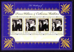 Solomon Islands William & Kate Wedding SS Mint NH  VF           2/14 - Solomon Islands (1978-...)