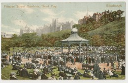 UK 52 -  Edinburgh - Princes Street Gardens, Band Day - Midlothian/ Edinburgh