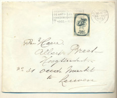 4v940 : N°491 : ANTWERPEN 6  20.XII 1938 : Gebruik  De ANTI-Teringszegels..1 DEC- 15 JULI... - Briefe U. Dokumente