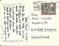 Österreich 1992 Sulz Röthis >> Bayreuth D - 1945-.... 2ème République
