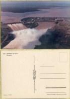 Ak  Paraguay - Itaipu - Wasserkraftwerk - Staumauer - Paraguay