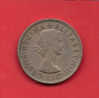 UK, 1958,  Circulated Coin 2 Shilling, KM906, C1768 - 1902-1971 : Post-Victorian Coins