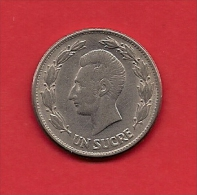 ECUADOR, 1946, XF Circulated Coin, 1 Sucre,   KM 78.2, C1808 - Ecuador