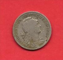 PORTUGAL, 1927, VF Circulated Coin, 50 Centavos,copper Nickel,   KM 577, C1830 - Portugal