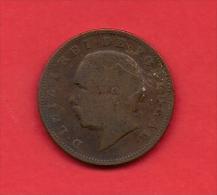 PORTUGAL, 1883, VF Circulated Coin, 20  Reis, Bronze,    C1836 - Portugal