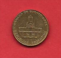 ARGENTINA, 1985,  XF Circulated Coin,5 Pesos, Brass,Km67  C1864 - Argentina