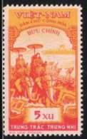 NORTH VIETNAM  1959 SCOTT 92 MH VALUE US $4.50 - Vietnam