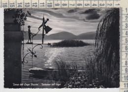 Torre Del Lago Puccini  Viareggio  Notturno Sul Lago Vg - Viareggio