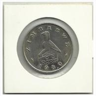 ZIMBABWE - $1 - 1980 - Zimbabwe