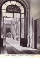 RAVENNA-CREDITO ROMAGNOLO=UFFICIO CAMBIO= VIAGGIATA IL 5-6-1955 - Ravenna