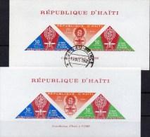 WHO 1962 Kampf Gegen Malaria Haiti Block 23 ** Plus O 16€ UNO-Kampagne Bloque Hojas Medica Blocs Fauna Sheets Bf Caribic - Haïti
