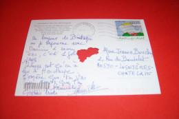 TIMBRE OBLITERATION FLAMME° SILHOUETTES DE BRETAGNE  LE 29 08 2005 - 1961-....